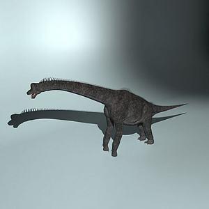 巨臂龙模型3d模型