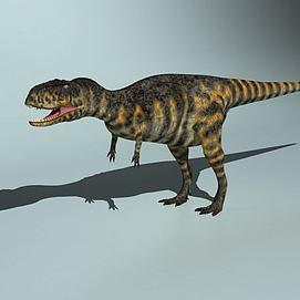 恐龙世纪阿贝力龙模型
