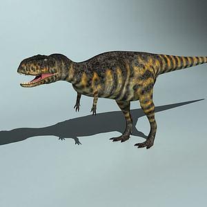 恐龙世纪阿贝力龙模型3d模型
