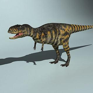 恐龙世纪阿贝力龙3d模型