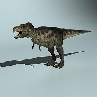 雷克斯暴龙模型3d模型