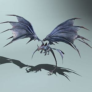 巨翼魔龙模型3d模型