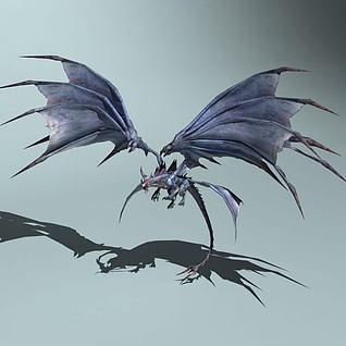 巨翼魔龙3d模型
