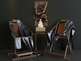 椅子根雕?#19968;?#27169;型