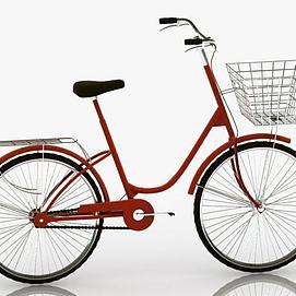 自行车模型