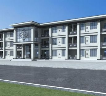 新中式宿舍楼