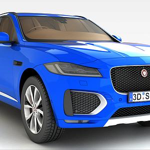 捷豹SUV汽车模型