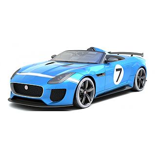 捷豹超跑汽车3d模型3d模型