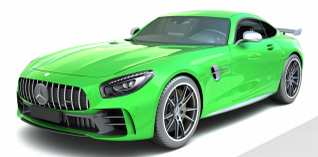 奔驰汽车AMG模型3d模型