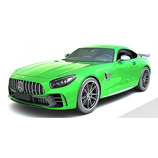 奔驰汽车AMG3d模型