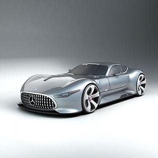 奔驰超跑汽车3d模型