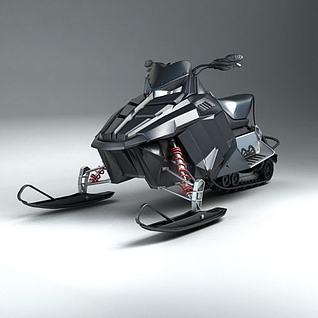 摩托艇3d模型