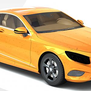 奔驰Coupe跑车模型