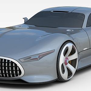 奔驰超跑汽车模型