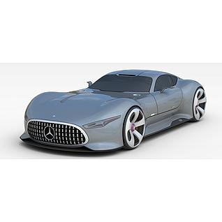 奔驰超跑汽车3d模型3d模型