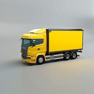 货车3d模型3d模型