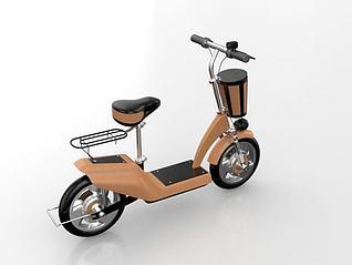 电动车模型3d模型