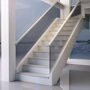 玻璃楼梯模型
