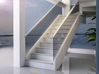 玻璃楼梯模型3d模型
