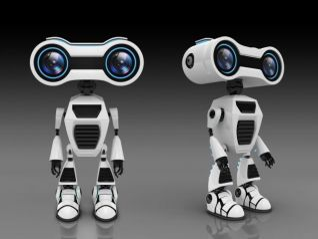 机器人模型3d模型