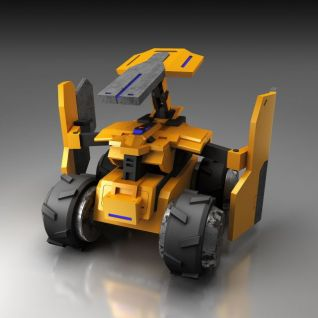 机器人3d模型3d模型
