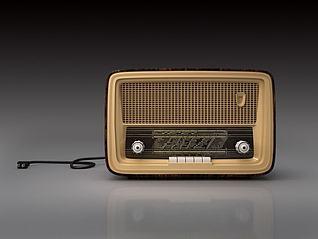 复古收音机模型3d模型
