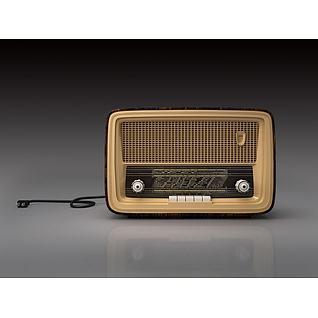 复古收音机3d模型3d模型