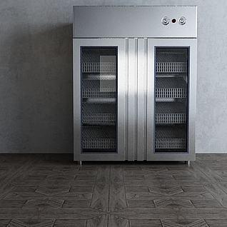 消毒柜3d模型