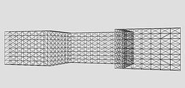 演唱会灯光网架模型