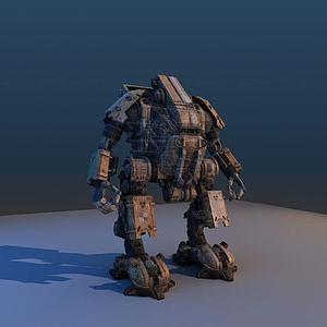3d次時代機器人模型