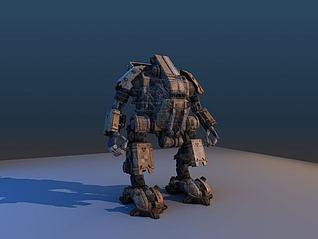 次时代机器人模型3d模型