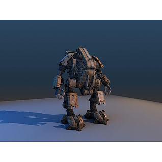 次时代机器人3d模型3d模型