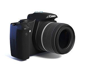 佳能相机模型3d模型