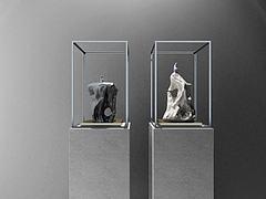 新中式摆件石头雕塑模型3d模型