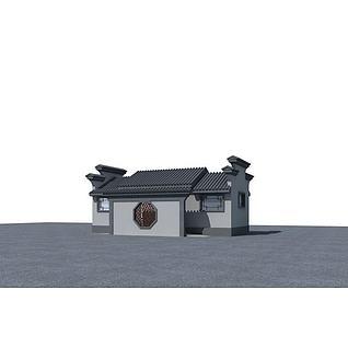 厕所3d模型