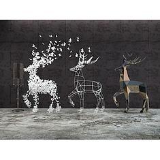小鹿造型摆件3D模型3d模型