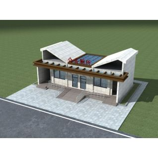 公共厕所3d模型