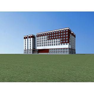 藏式博物馆3d模型