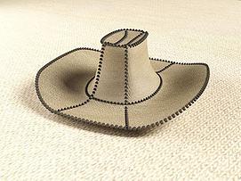 牛仔帽模型