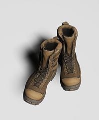 军靴模型3d模型