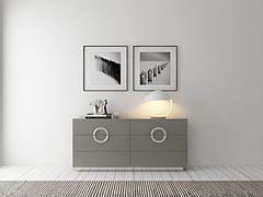 现代装饰柜组合模型3d模型