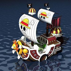 海贼王之万里阳光号模型