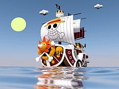 海賊王之萬里陽光號3D模型