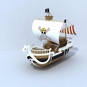 海贼王之梅利号模型3d模型