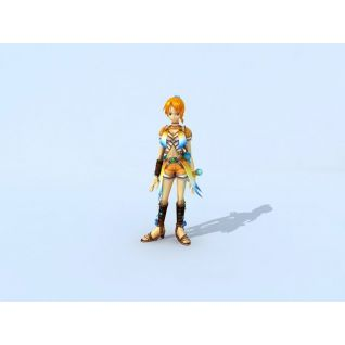 海贼王之娜美3d模型