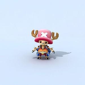 海贼王之乔巴模型3d模型