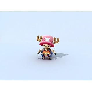 海贼王之乔巴3d模型
