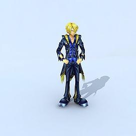 海贼王之山治模型