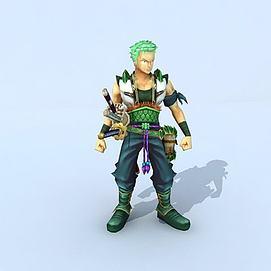 海贼王之索隆模型