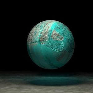 球體變形機器人模型3d模型